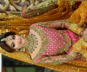 wedding, south asian, and wedding dress image