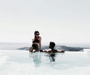 beach, Versace, and love image