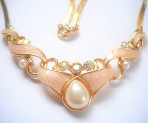 etsy, choker necklace, and ab rhinestones image