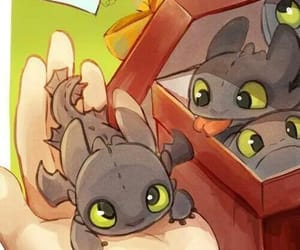 art, toothless, and cute image
