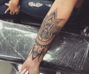 tattoo, ink, and arm image