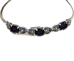 etsy, silver jewelry, and gemstone jewelry image