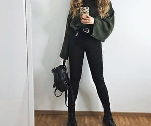 backpack, casual, and fashion image