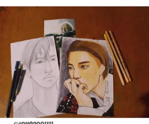 art, kai, and beakhyun image