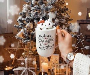 drink, christmas, and photography image