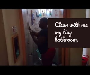 bathroom, speed cleaning, and video image