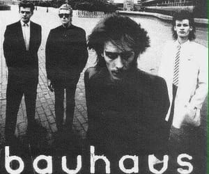 bauhaus, music, and rock image