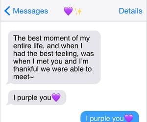purple love image