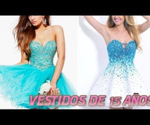 dresses, short dresses, and quinceanera image