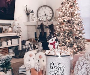 aesthetic, christmas, and interior image
