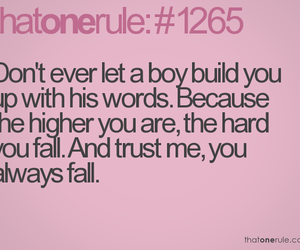 boy, text, and falling image