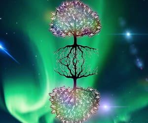 art, digital, and tree of life image