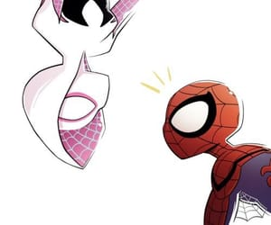 Marvel, spider-woman, and spiderman image