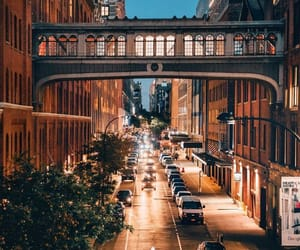 city, dreamy, and girl image