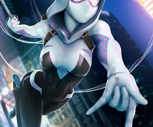 Marvel, spider-woman, and gwen stacy image