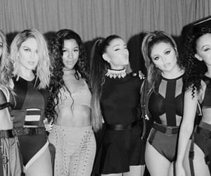 ariana, little mix, and grande image