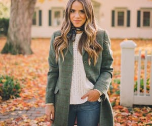 autumn, hairstyle, and coat image