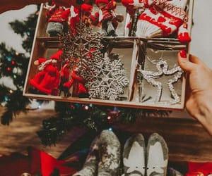 christmas cookies, christmas tree, and winter image