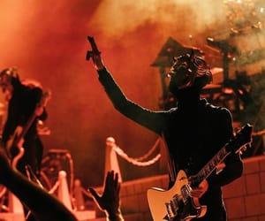music, red, and metalhead image