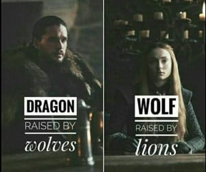 got, game of thrones, and dragon image