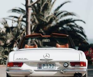 car, vintage, and mercedes image