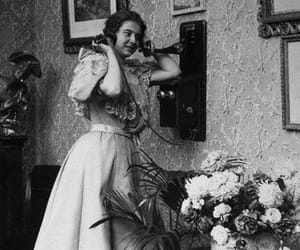 her, phone, and telephone image