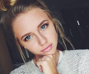 blonde, pretty, and girl image