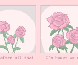 rose, aesthetic, and quotes image