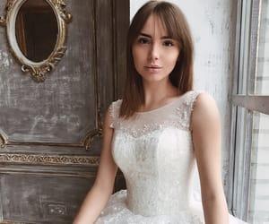 beauty, wedding, and white image