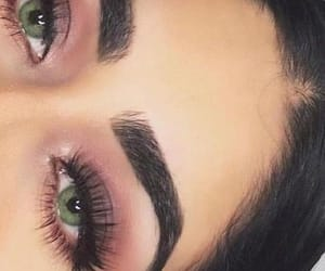 eyes, makeup, tumblr, pink, girl