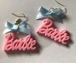 barbie, clothes, and earrings image