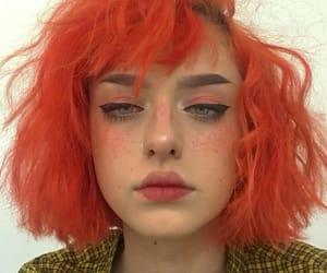 cabelo, hair, and laranja image