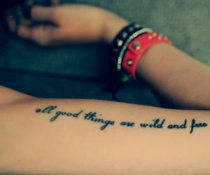 tattoo, free, and wild image