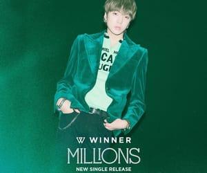 green, jinwoo, and idol image