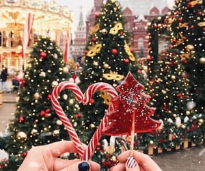 christmas, candy, and christmas tree image