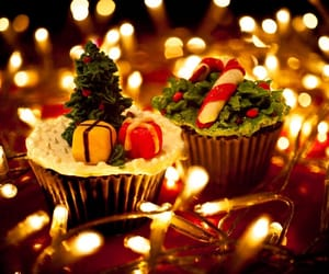 candle, candy, and Cookies image