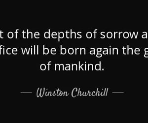 churchill, Mankind, and quote image