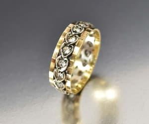 ring, wedding, and band image