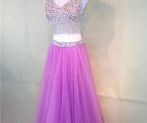 prom dress, homecoming dress, and homecoming dress pink image