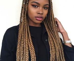 blonde box braids image