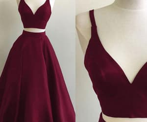 prom dresses for cheap, prom dresses long, and burgundy prom dresses image