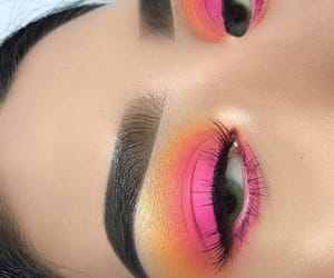 eyebrows and makeup looks image