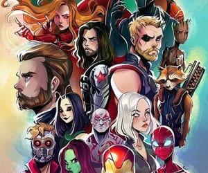 Marvel, wallpaper, and Avengers image