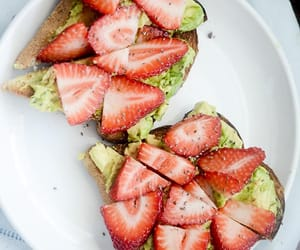 avocado, fruit, and healthy image