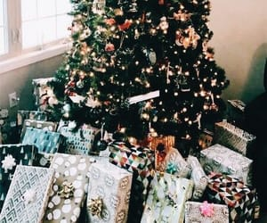 christmas, festive, and gifts image