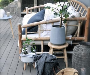 balcony, grey, and gris image