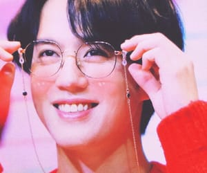 baby, glasses, and kpop image