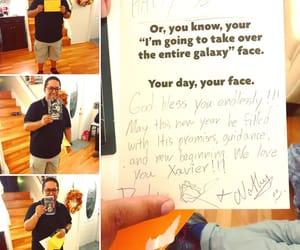 autograph, birthday card, and florida image