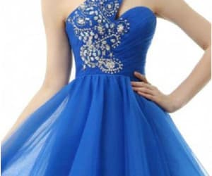 homecoming dress short and prom dresses blue image