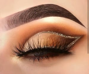 beautiful, eyebrows, and eyelashes image